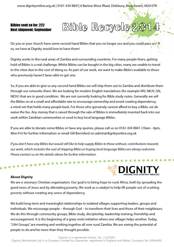 2014 06 Dignty Bible Recycle