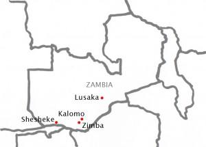 Kalomo Zimba Shesheke