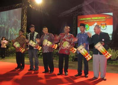 Launching Pemilukada 2013 Berlangsung Meriah