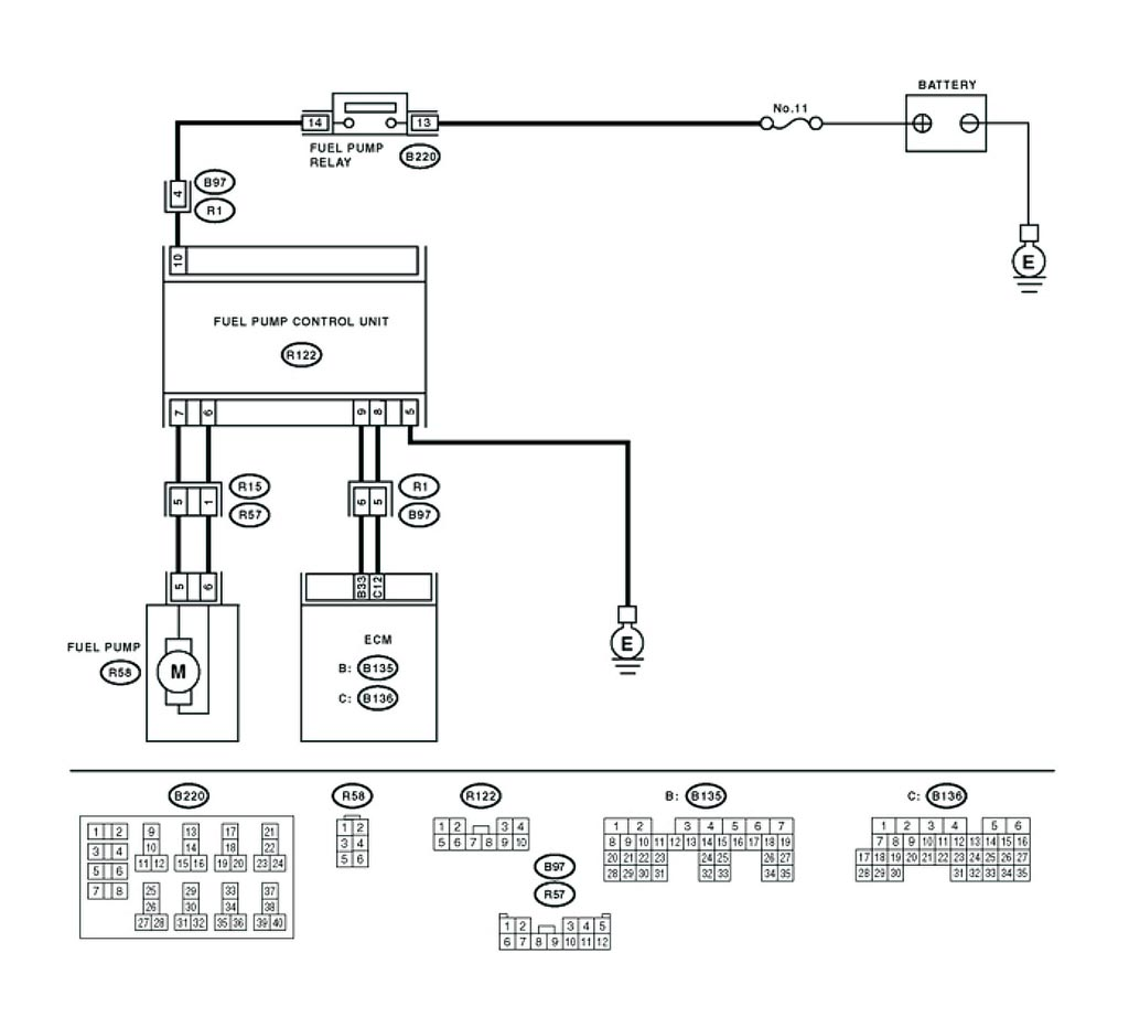 Subaru Fuel Diagram