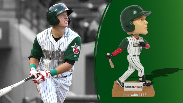 Josh Van Meter TinCaps Bobblehead Giveaway at Parkview Field
