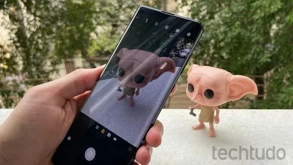 Câmera macro capta detalhes de objetos próximos — Foto: Thássius Veloso/TechTudo
