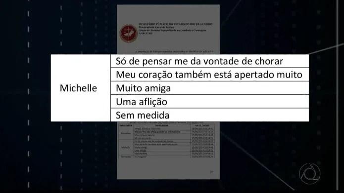 Michelle Cardoso demonstrou angústia com viagem para João Pessoa — Foto: Reprodução/TV Cabo Branco