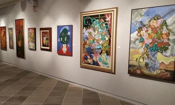 Masc homenageou artista Rodrigo de Haro em exposição em 2019 — Foto: Divulgação
