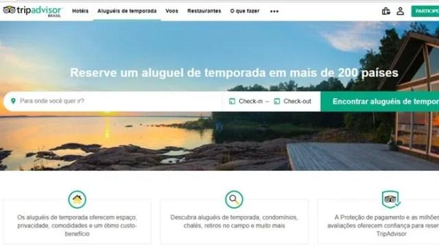 Tripadvisor Rentals é uma ferramenta de aluguel que econtra imóveis em mais de 200 países (Foto: Reprodução/Clara Barreto)