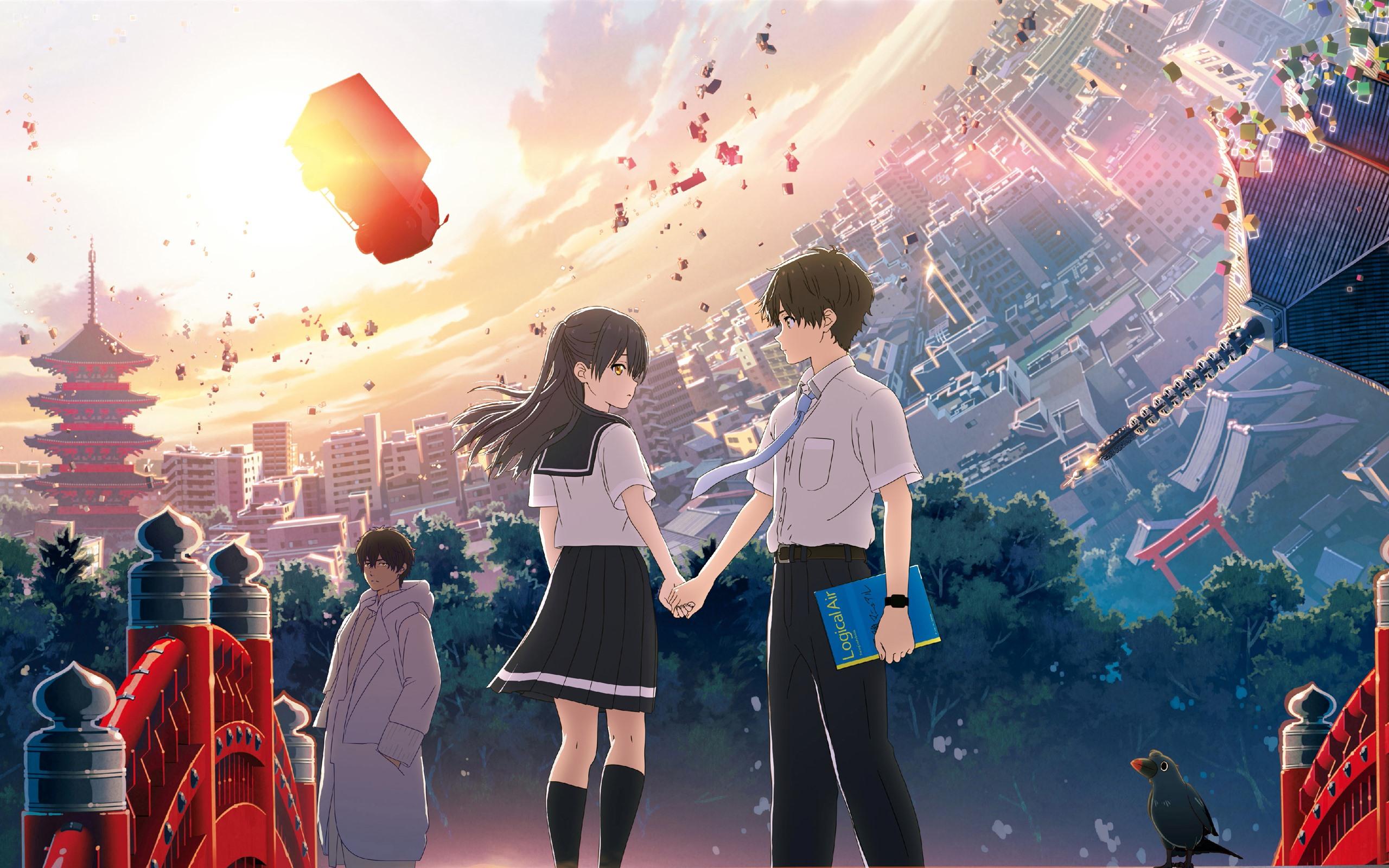 Wallpaper Hello World Anime Movie 2019 3840x2160 Uhd 4k Picture Image