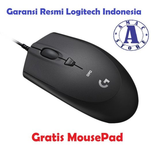Logitech G90 Optical Gaming Mouse Garansi Resmi