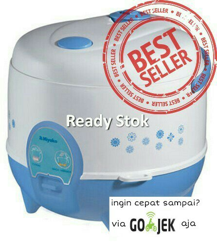 MAGIC COM /RICE COOKER MINI MIYAKO 612/PENANAK NASI 3IN1