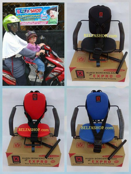 Kursi Bonceng - Kursi Bonceng Anak - Kursi Boncengan - Kursi Boncengan Anak - Kursi Bonceng Motor - Kursi Boncengan Motor Matic Expro Ekonomis