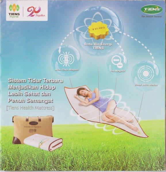 Tiens Health Mattress (Matras Kesehatan)