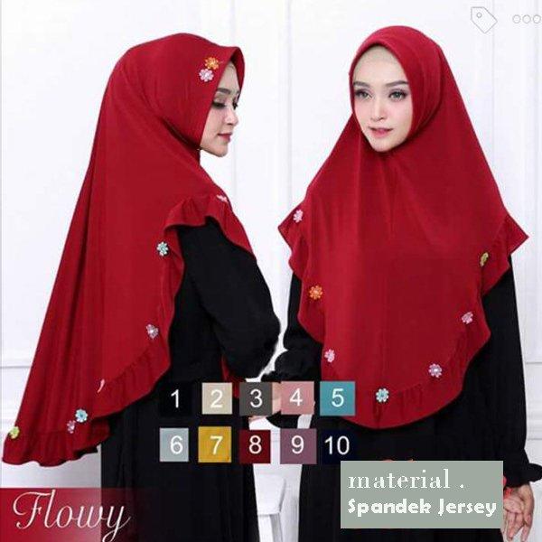 Gambar Untuk Hijab Instan Syari Flowy