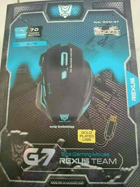 Mouse Gaming Rexus RXM G7 Elite