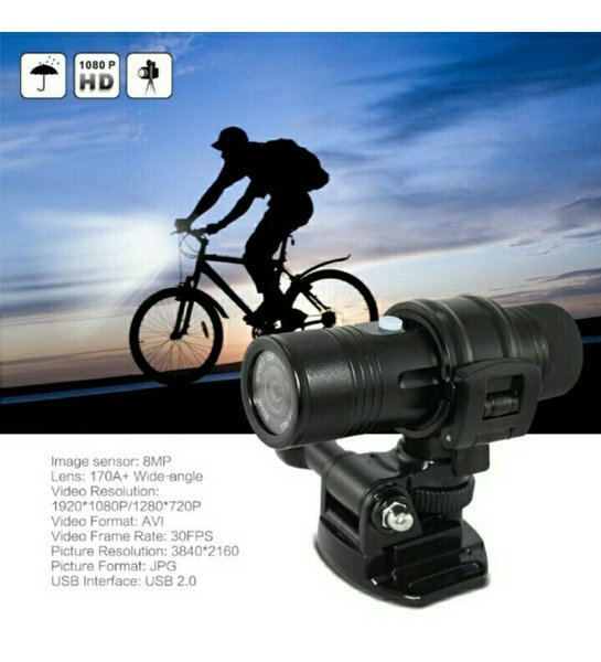 NEW Sport s Cam HD 1080P 30FPS 8-MP 170 Wide angle Lens Helm et outdoor Bike Action Camera Car DVR Water-Resistant Kamera perekam olahraga sepeda