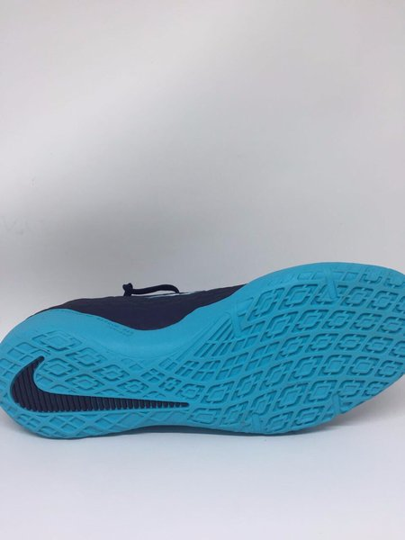 Sale Sepatu futsal Nike original Hypervenom phelon X IC navy blue new2017