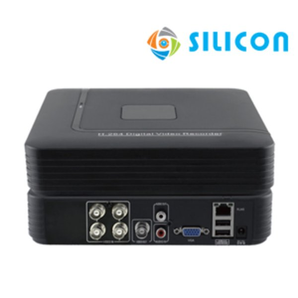 Promo SILICON STANDALONE DVR TR001 4 CHANNEL CCTV TV MONITOR VIDEO
