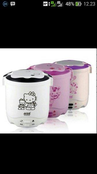 mini rice cooker hello kitty