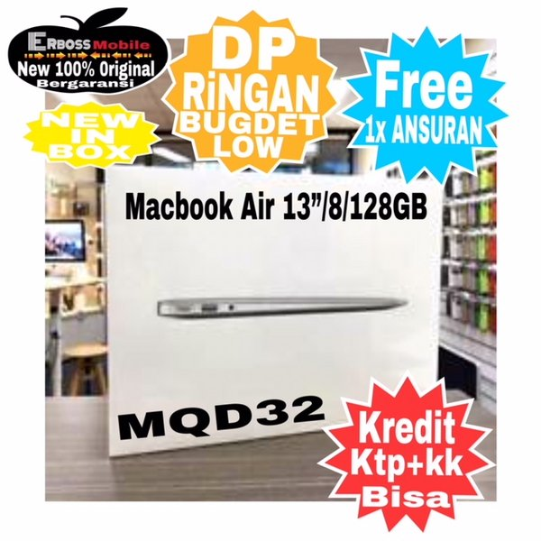 Macbook Air MQD32 New 2017 Original Apple kredit toko bisa