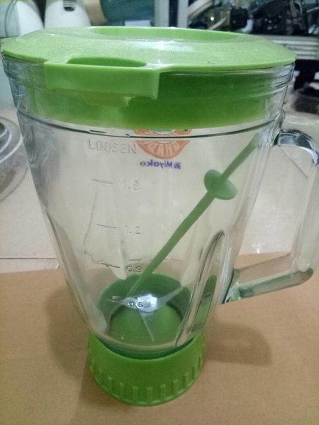 PROMO gelas blender miyako jumbo bahan kaca BANYAK