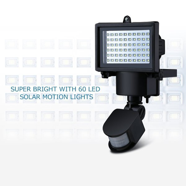Original Mpow Premium Msl14 Outdoor Solar Motion Sensor Lights 60 Led Waterproof Solar Powered Security Lights Di Lapak Blessing Happy Shop Bukalapak