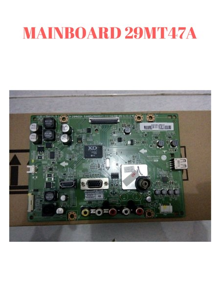 MAINBOARD - MOTHERBOARD - MODUL MAIN TV LED LG 29 INCH 29MT47A
