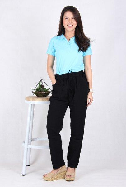 Celana Kulot Jeans Wanita -8201