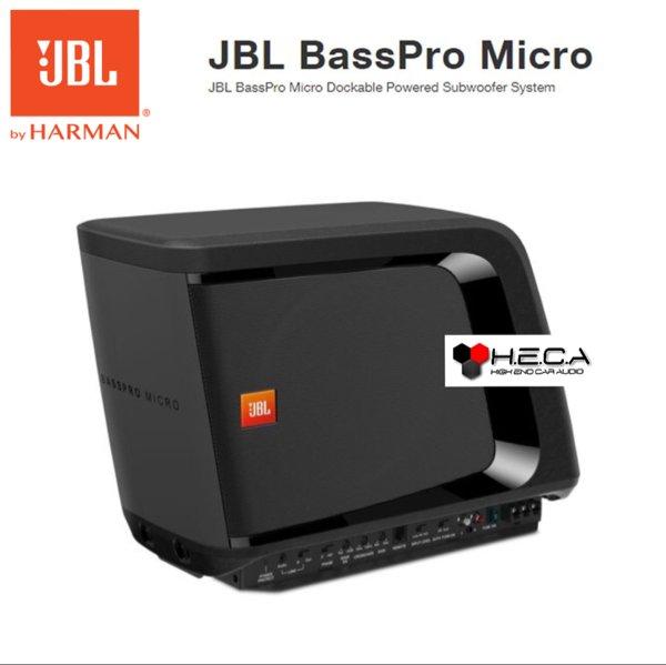JBL BassPro Micro 8 inch Slim Subwoofer Aktif Active Built In Power