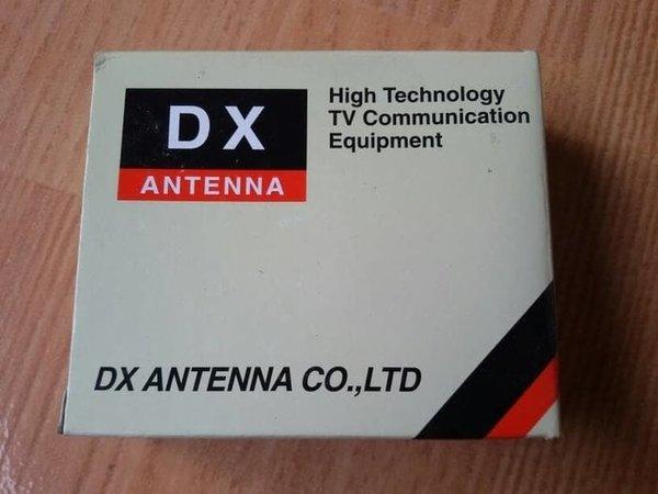 Jual DX Antenna BS-UV4 UHF VHF FM 4 Way Splitter 1 Input Antena 4 Output TV Ready Stock