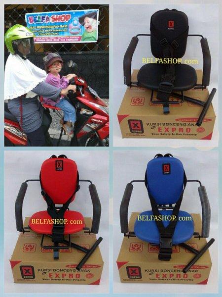 Kursi Bonceng Boncengan Motor Anak Matic Polos Expro Ekonomis