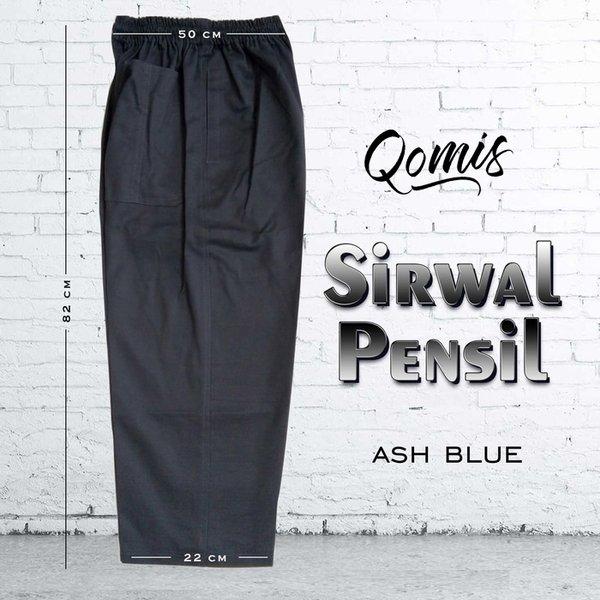 Sirwal Pensil - Celana Sirwal - Sirwal Murah Abu Denim