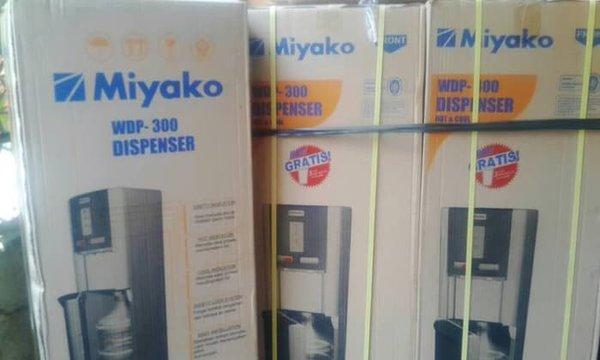 TERLARIS WDP 300 Dispenser Miyako Hot n Cool Galon di Bawah HOT PROMO