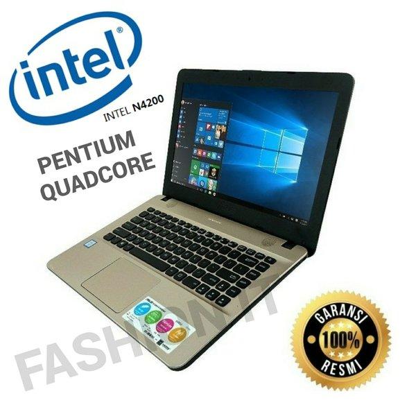 PROMO LAPTOP ASUS X441NA-INTEL QUAD CORE N4200-RAM 4GB-HDD 500GB-14inch-MURAH RESMI MULTIMEDIA VIVOBOOK