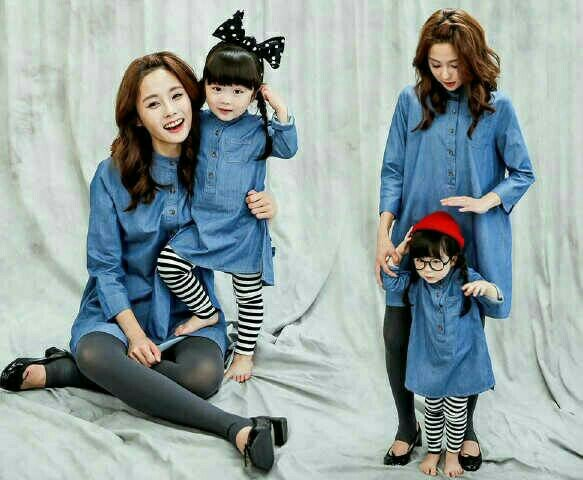 fashion baju couple ibu dan anak