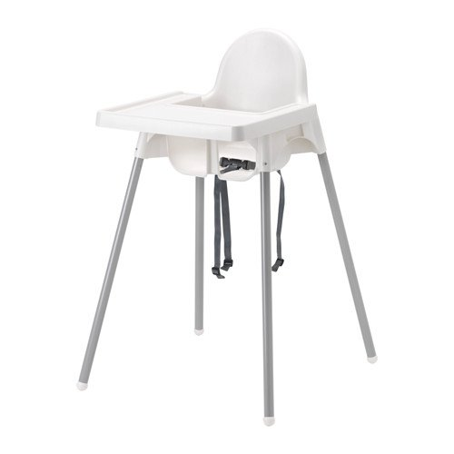 Antilop Highchair With Safety Belt And Table Eks Display Ikea Di Lapak Ikea Indonesia Store Bukalapak