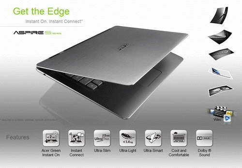 Acer Aspire S3 Ultrabook i3