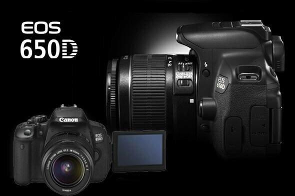 KAMERA CANON EOS 650D KIT 18-55 IS