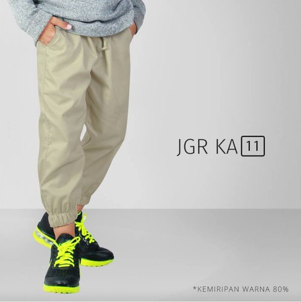 Jogger Pants Anak - Celana Jogger Anak - Sirwal Jogger Anak - Celana - JGR K A 11