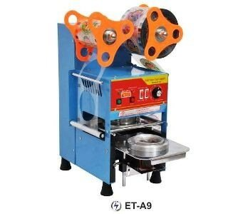 Et-a9 Automatic Cup Sealer mesin Penyegel Cup Plastik Otomatis