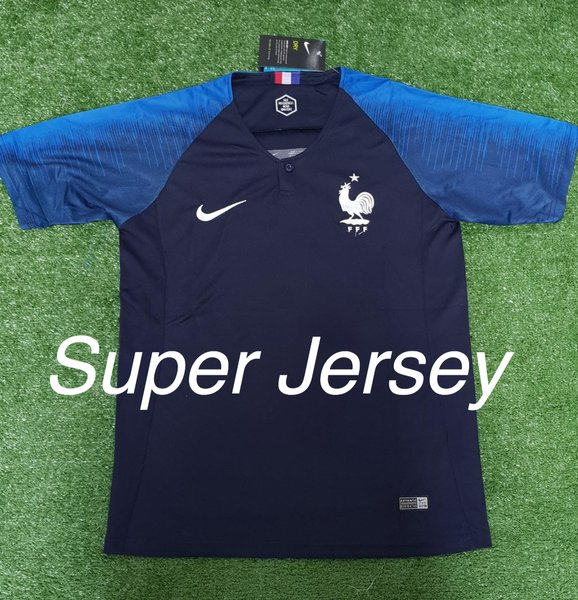 Jersey Grade Ori Perancis Home Jersey France Home World Cup 2018