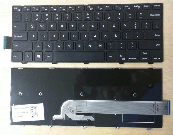 Aksesoris Laptop Keyboard Laptop DELL Inspiron 14 3000 3441 3442 3446 3447 5000 Series