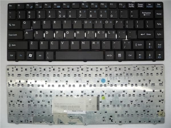 Promo - Keyboard Msi Ms-1356 U270 US270DX MS-1245 GE40 MS-124K MS-1485 MS-1492