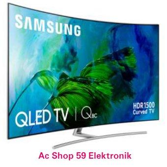 QLED SAMSUNG 65Q8C PREMIUM UHD 4K SMART QLED 65 INCH TV CURVED HDR1500 NEW 2017