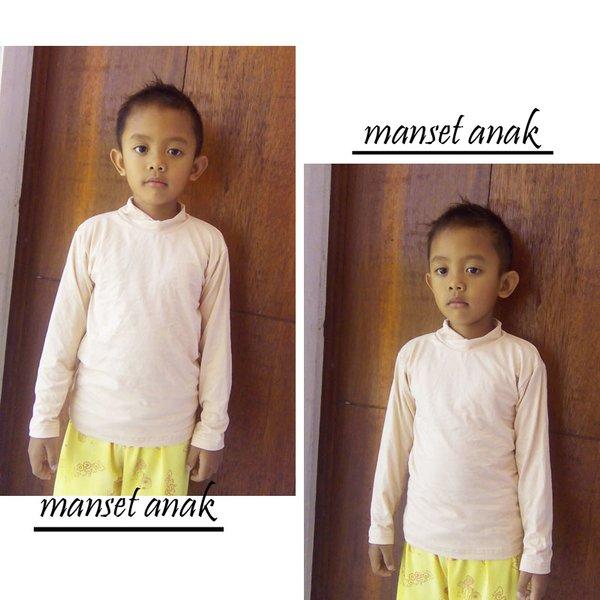 manset anak usia 3-9 tahun warna kulit