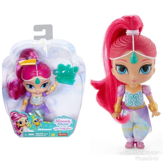 Boneka Shimmer And Shine Shimmer Doll 15cm Zahramay Skies Murah Original Fisher Price 1 Di Lapak Mishana Shop Bukalapak