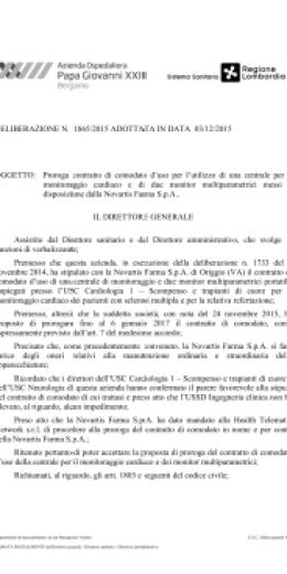 Oggetto Contratto Di Comodato Duso Di Una Centrale Per Il