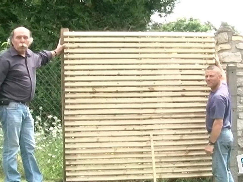 comment faire une cloture en bois