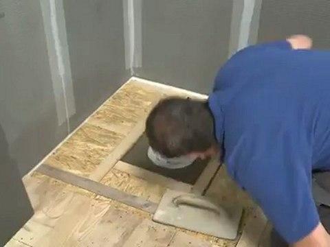 douche a l italienne sur un plancher bois la solution