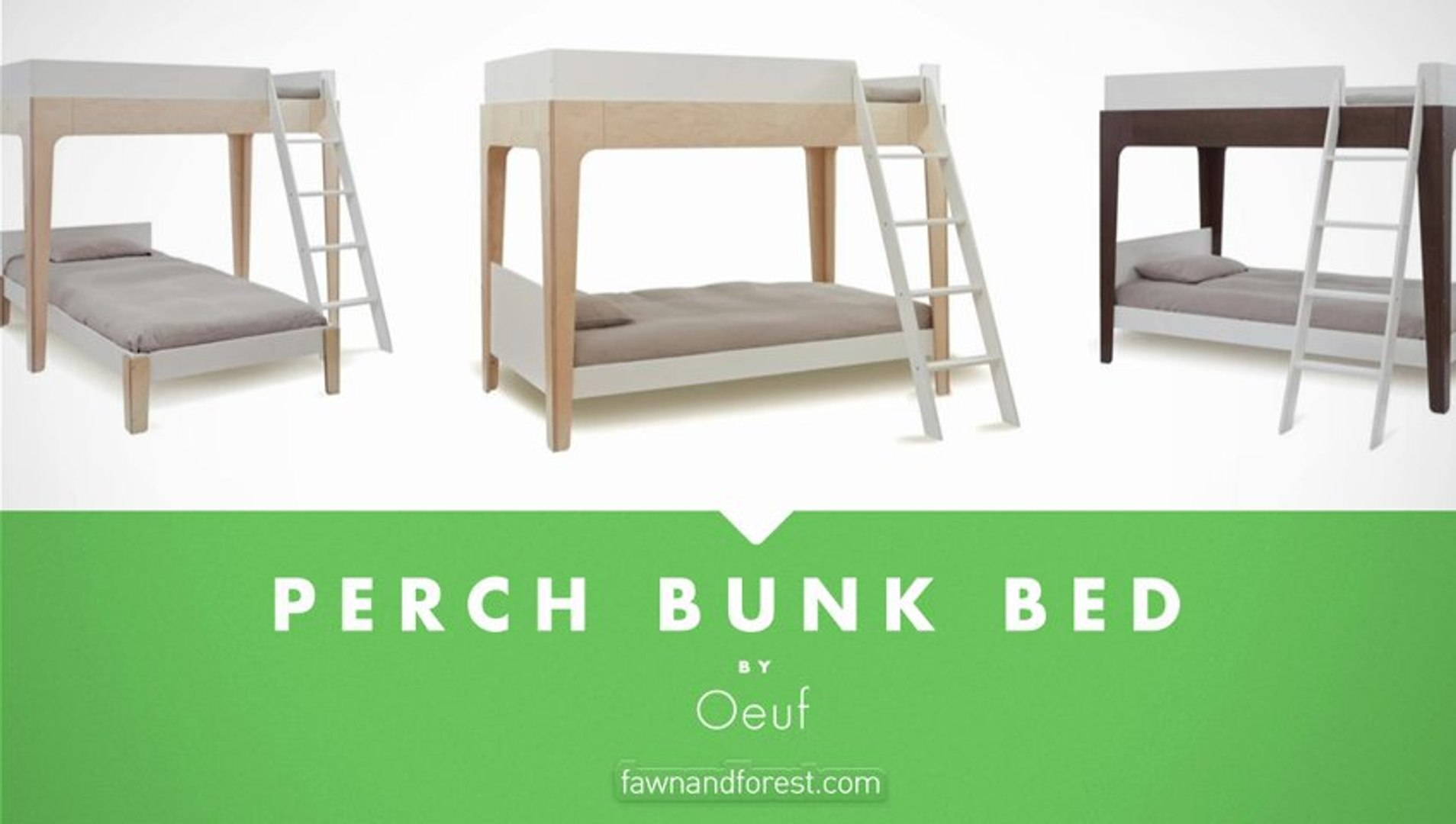 Oeuf Perch Bunk Bed At Fawnandforest Com Video Dailymotion