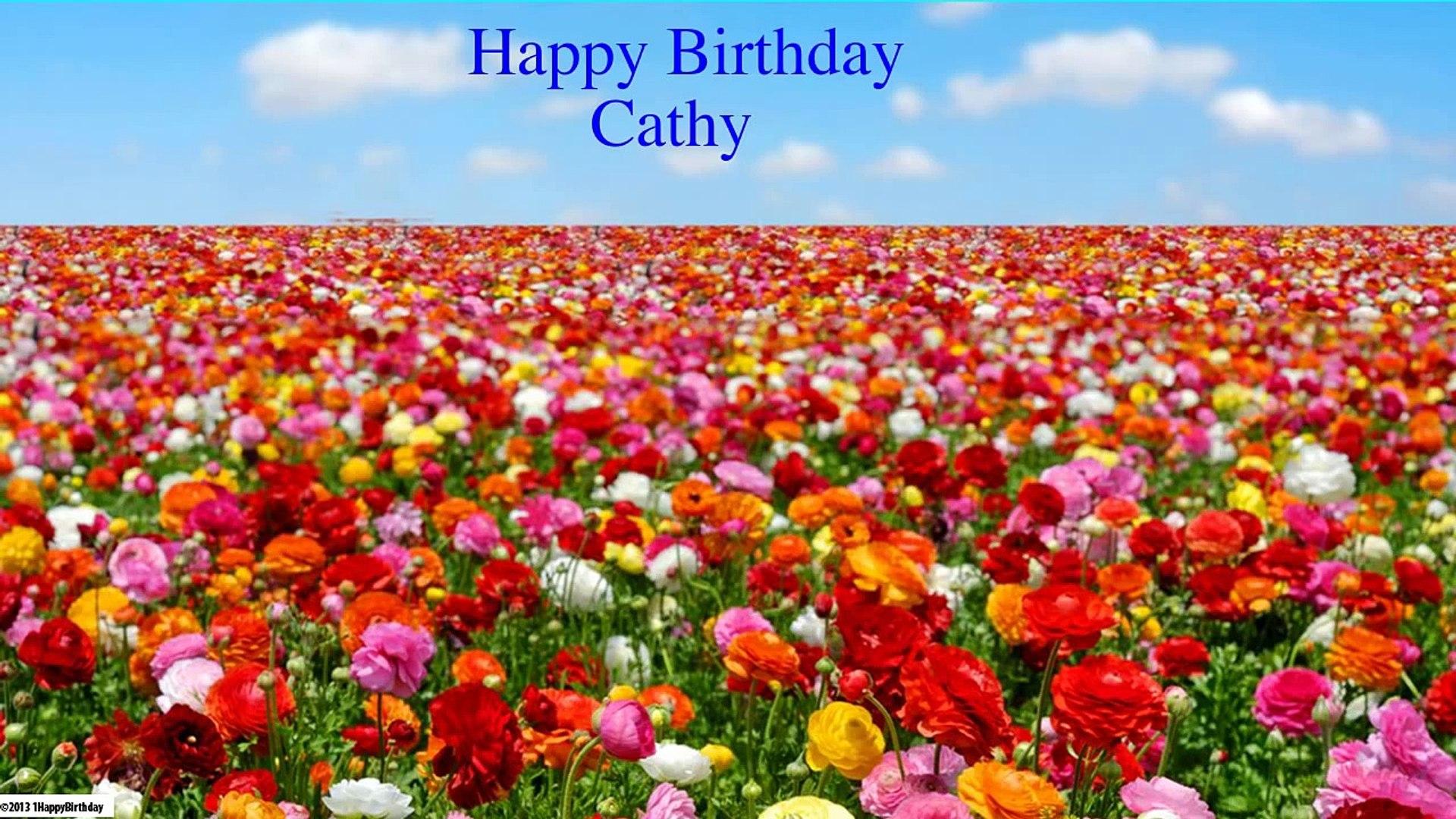 Cathy Happy Birthday Nature Happy Birthday Video Dailymotion