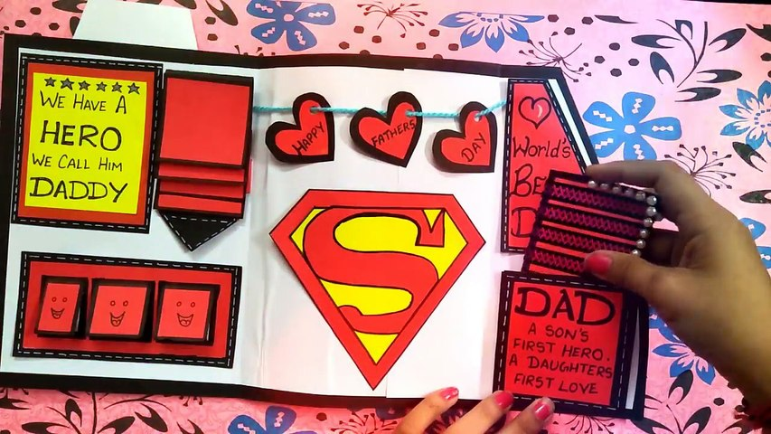 How To Make Birthday Card For Father Diy Greeting Cardssuit Tuxedo Card 影片 Dailymotion