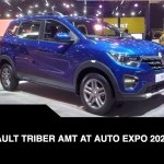 Renault Triber Amt At Auto Expo 2020 Renault Triber Amt First Look Features More Video Dailymotion